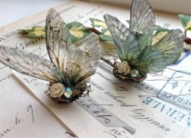 wedding photo - Pretty Rainbow Faerie Wing Hair Adornment