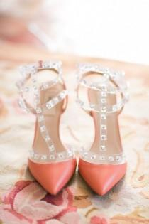wedding photo - Wedding Obsession! Valentino Rock Stud Wedding Shoes
