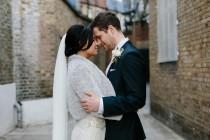 wedding photo - Jenny Packham 'Eden' dress for a modern London wedding