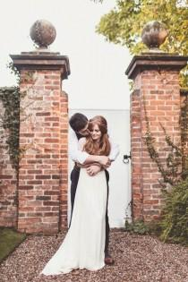 wedding photo - Enchanting English Wedding At Iscoyd Park