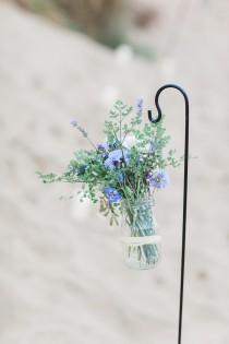 wedding photo - Fishtail Braid Bridal Hair For A Beach Inspiration Shoot At Camber...