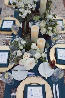 wedding photo - Amorology:  First Comes Love: Real Wedding: Key To My Heart