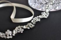 wedding photo - Wedding headpiece, headband, ELLA, Rhinestone Headband, Wedding Headband, Bridal Headband, Bridal Headpiece, Rhinestone