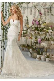wedding photo - Mori Lee Wedding Dresses Style 2825