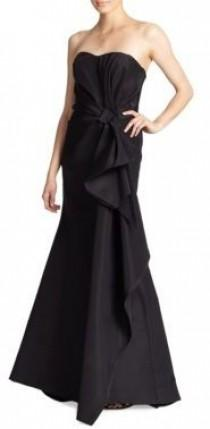wedding photo - Carolina Herrera Night Collection Silk Falle Draped Gown
