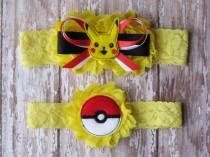 wedding photo - Pokemon Garter Set