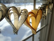 wedding photo - Heart garland