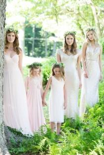 wedding photo - The Art of Mixing and Matching with Bari Jay Bridesmaids