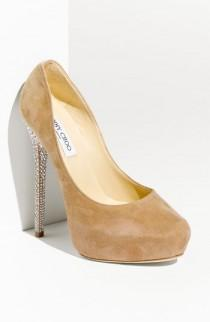 wedding photo - Jimmy Choo 'Esam' Crystal Heel Platform Pump