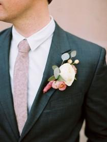 wedding photo - Anthropologie Floral Inspired Vegas Destination Wedding