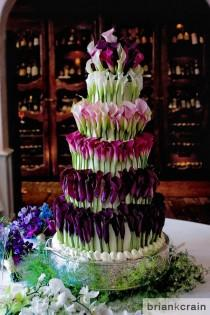 wedding photo - Cakes: Garden