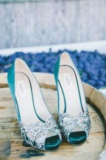 wedding photo - The Best Valentino Wedding Shoes To Strut Down The Aisle - MODwedding