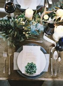 wedding photo - Glamourous Emerald Wedding Inspiration, Just In Time For St. Patrick's Day