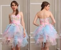 wedding photo - robe de bal courte pour la promo 2106