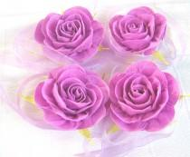 wedding photo - lavender rose corsage Prom Flowers Baby Shower Corsage bridal corsage cuff bracelet wrist corsage flower girl bracelet Purple Wedding Flower
