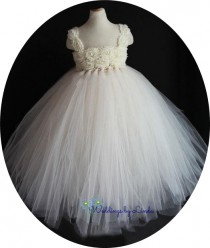 wedding photo - Rosette Tulle Gown