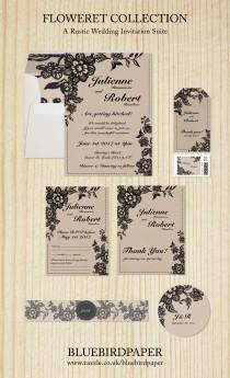 wedding photo -  Floweret   Rustic Wedding Suite