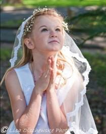 wedding photo - Girl's First Communion Veil