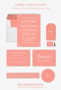 wedding photo -  Coral | Simple and Elegant Wedding Suite