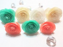 wedding photo -  Paper Cabbage Rose, Coffee filter Roses, Artificial flowers, Fake flowers, Coral flowers, Floral arrangements, Paper flowers, Roses