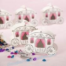 wedding photo - 12pcs Baby Carriage Favor Box kid's birthday party TH006