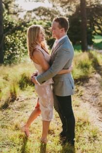 wedding photo - Chic Country Engagement - Polka Dot Bride