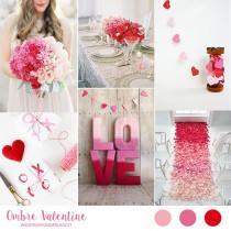 wedding photo - Inspiration board: San Valentino ombré