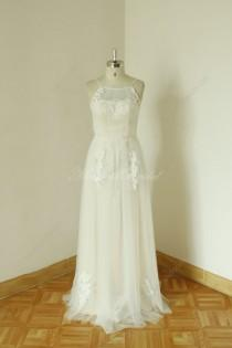9a3e17e79d50f 2014 Nude lining Sleeveless Sex sheer ivory wedding dress