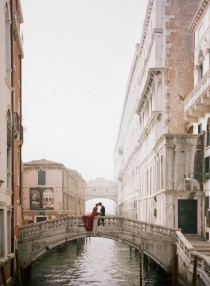 wedding photo - Valentino Inspired Elopement in Venice