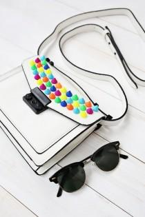 wedding photo -  Try This: Upgrade Your Handbag with Colorful Spikes