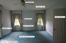 wedding photo -  Elsie's Bedroom (BEFORE)