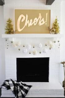 wedding photo -  Cheers! Light Box Marquee DIY