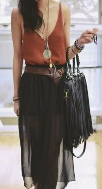 wedding photo -  Adorable Boho Casual Outfits To Look Cool