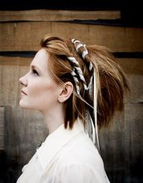 wedding photo -  Beautiful Hair Wraps - Know More About Them