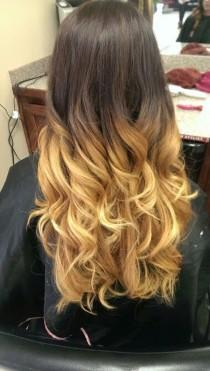 wedding photo -  Beautiful Ombre Hairstyles You Must Checkout