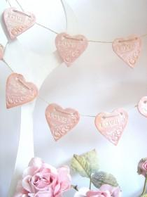 wedding photo - Wedding garland,Wedding Decoration,Vintage Wedding garland,Love Garland,