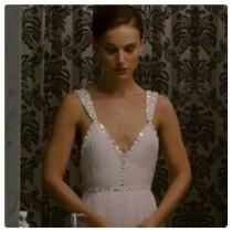 wedding photo - Natalie Portman Black Swan inspired white dress