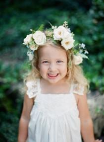 wedding photo - The Cutest Flower Girls   Ring Bearers Of 2015