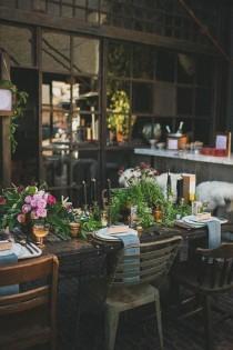 wedding photo - 30 Woodland Wedding Table Décor Ideas