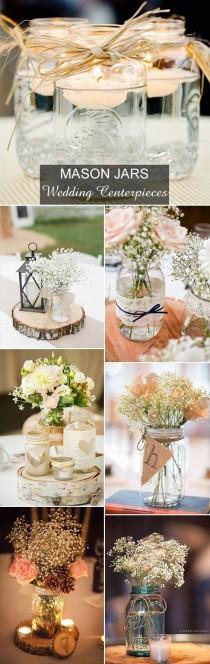 wedding photo - Mason Jars