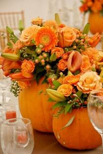 wedding photo - 34 Lovely Fall Tablescapes