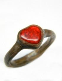 b5b4ec751 Unique Hand Carved Promise Ring, Engagement Ring, Boho, Boho Ring, Boho  Jewelry, Wood Ring, Heart Ring, Wood Jewelry, Ring, Wood Heart, Her