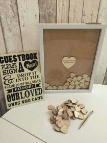 wedding photo - Modern And Fun Guest Book Ideas