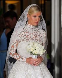 wedding photo - See Nicky Hilton's Stunning Valentino Wedding Dress (PHOTOS)