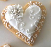 wedding photo - Easy Valentines Day Cookies For Him