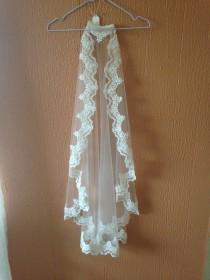 wedding photo - Brand New Mantilla Lace Veil