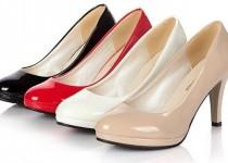 wedding photo - Patent Leather Office Lady Pumps
