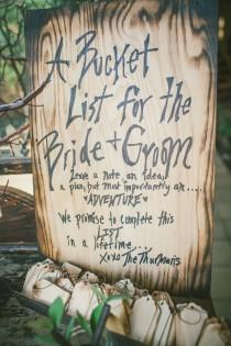 wedding photo - Wedding Ideas: Unique Alternative Wedding Guestbooks