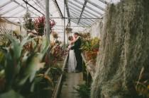 wedding photo - Boho-Batik California Greenhouse Wedding: Melissa + Adam