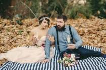 wedding photo - Dark Blue Fall Weddings
